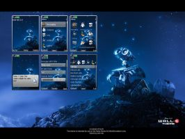 Wall-E Starry Night Theme by snm-net