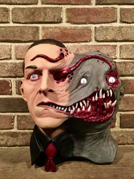 H.P Lovecraft Tormented Bust by Angron-The-Red-Angel