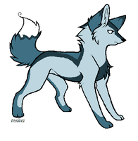 Wolf Adoptable CLOSED by WolfStarr7