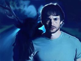 Will Graham and the Nightmare Stag by Khorin