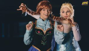 Frozen - Happy we are we by Muralu