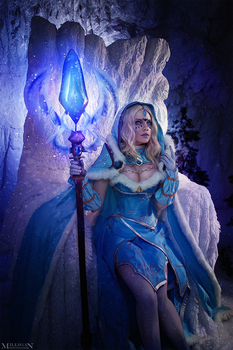 DotA 2 - Crystal Maiden Arcana by MilliganVick
