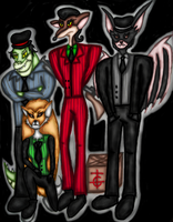 Gangsters by Donna-Rayna