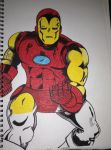 Iron Man by SnorDuck