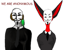 We Are Anonymous by saszka82