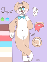 [ Chip - Reference Sheet ] by DorkyAF