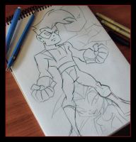 Time for Sketching.. by CHUCKAMOKK