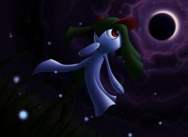 :A Walk in the Dark: Kirlia by endless-whispers