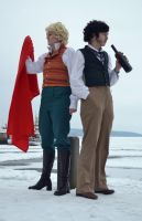 Les Mis - Red and Green by RiKyo5
