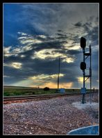 Sunset Signal HDR by factorone33
