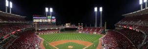 Reds Game by AllNightRain