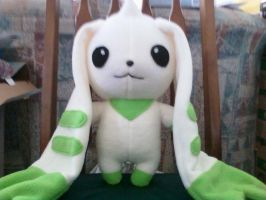 MY TERRIERMON PLUSH by SilverSheCat