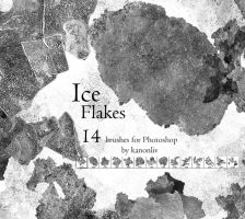 Ice Flake Brushes by kanonliv