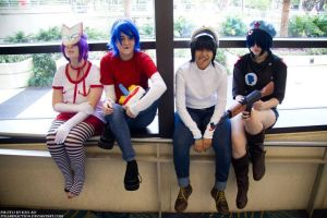 Megacon 2012: GoRiLLaZ by Greaser-Photography
