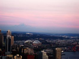 seattle view by amandaxautomatic