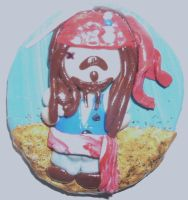 Jack Sparrow magnet by ajacqmain