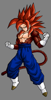 Vegetto, SSJ4 by hsvhrt