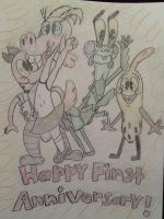 *.*Happy First Anniversary, PGBC!*.* by CottonCatTailToony