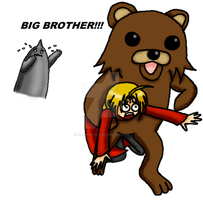 Pedobear strikes again by Detective-May