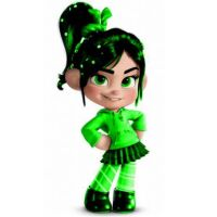 Green Vanellope by RancisDaChocolate