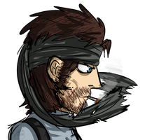 Solid Snake by AkariMMS