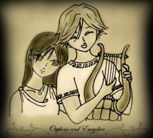 Orpheus and Eurydice by Comtessedelalune