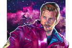 Star Lord - Guardians of the Galaxy Speed Paint! by BonnyJohn