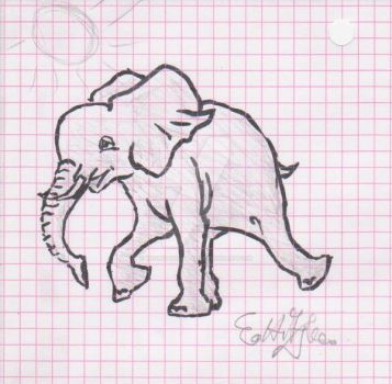 Elephant by WoundedSoul99