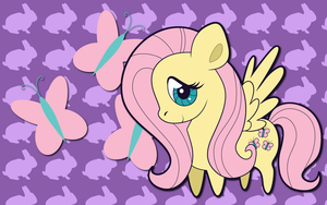 Chibi Fluttershy WP by AliceHumanSacrifice0