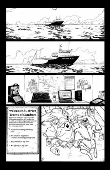 Adrift Issue #1 page 1 by mastermerol