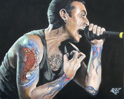 Chester Bennington by ZomBieTOmmm