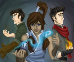 Team Korra by blindbandit5