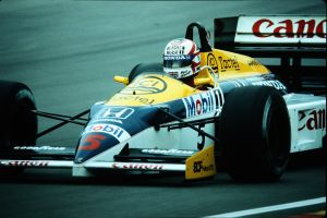 Nigel Mansell (Great Britain 1986) by F1-history