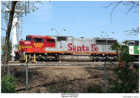 BNSF SD75M 8230 by hunter1828