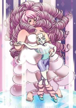 A Rose and her Pearl by raya