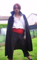 shanks cosplay by evilsnowball7