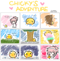 Chicky's Adventure by iNekoamii