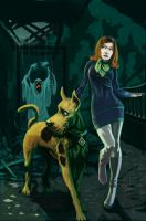Scooby and Daphne by nbashowtimeonnbc