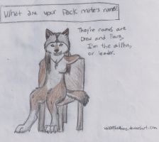 Wolf the Werewolf-Question 1 by WolfOfTheMoons