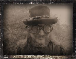 Steampunk Black 23 Daguerreotype by Windthin