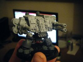 WIP Grey Knights Dreadnought by Tome-The-Dragon