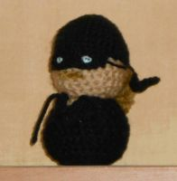 Wesley (Dread Pirate Roberts) Amigurmi by Craftigurumi