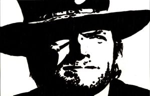 Clint Eastwood by WillRepent