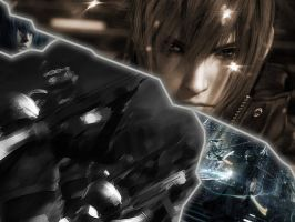Final Fantasy Versus XIII by marcosdelira