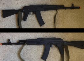 AK-74M to AK12 Look WIP by Ghost141