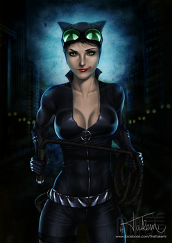 Gotham Sirens - Catwoman by TheTakemi