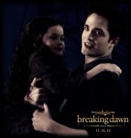 breaking dawn part 2 poster Edward and Renesmee by Tokimemota