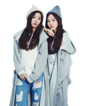 SeulGi and Wendy (Red Velvet) Cutout by Sweetgirl8343