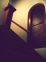 Up the Stairs by saturn-rings