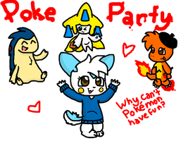 .:Poke-Party:. by SketchyCharmander